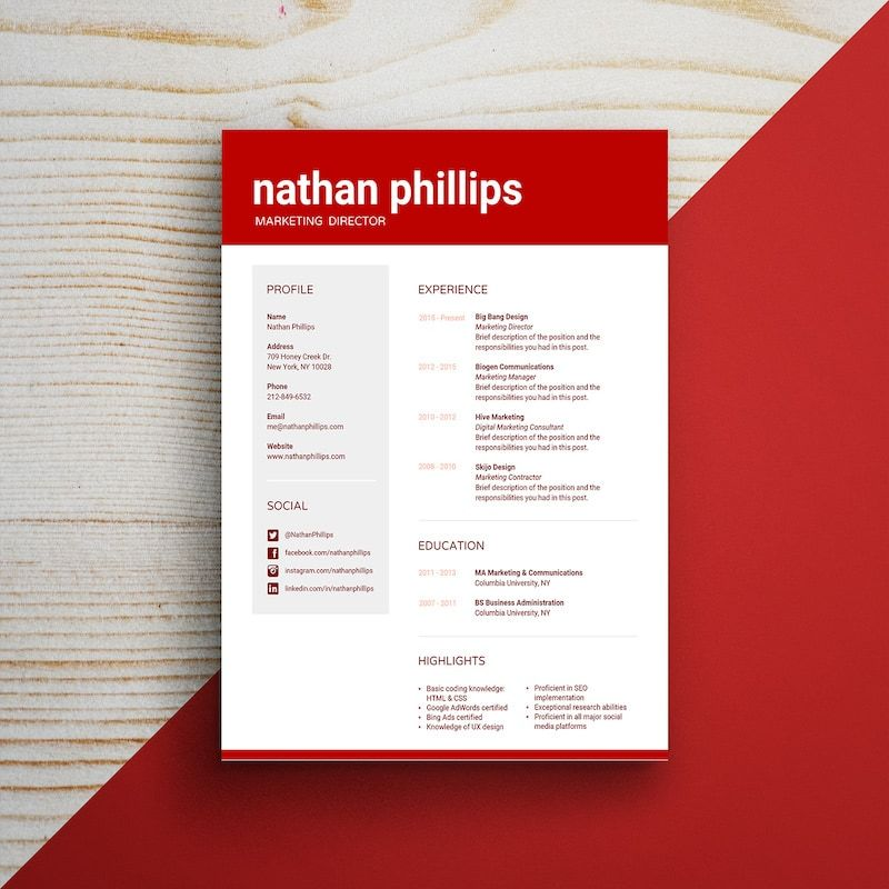 Infographic resume template venngage infographic