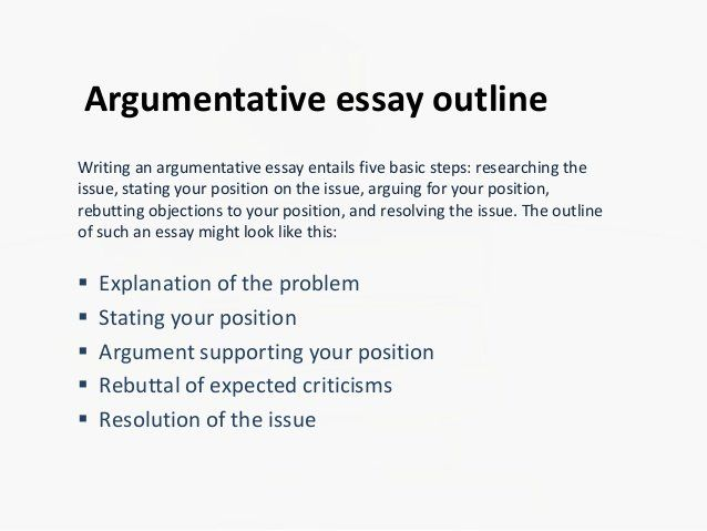 How To Outline An Essay Beautiful Argumentative Rebuttal Argument Topics