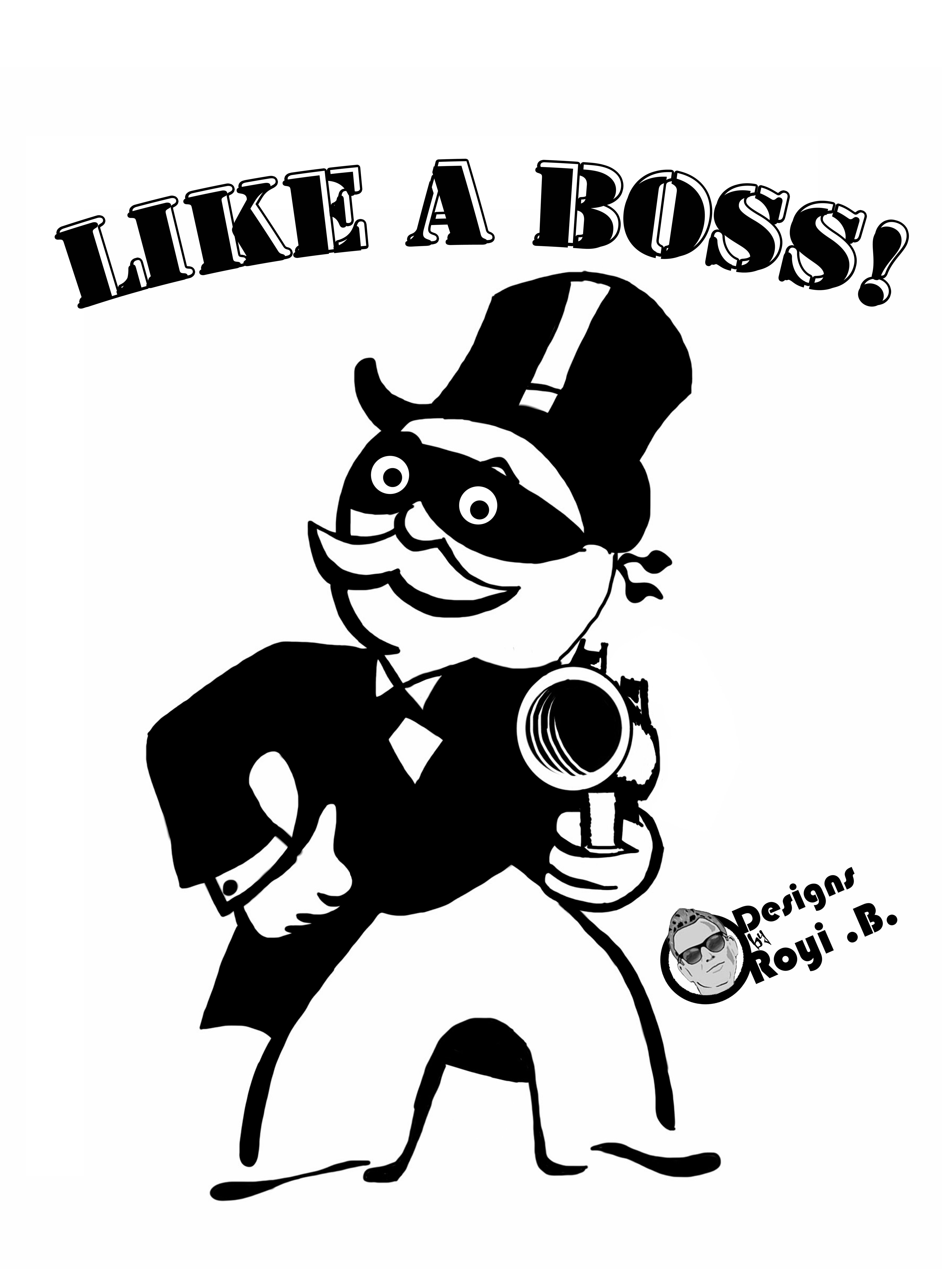 It's just a picture of Exhilarating Monopoly Man Drawing