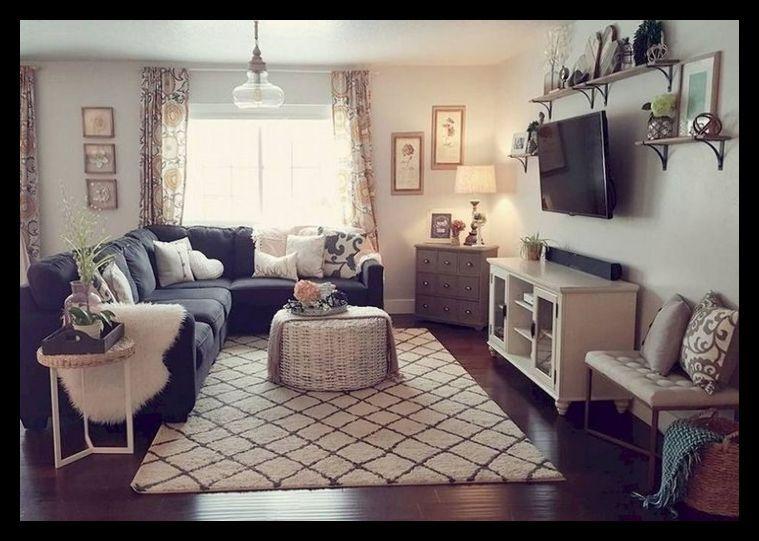 82 Comfy Small Apartment Living Room