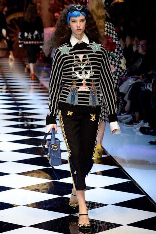 Полосатый принт-11-Dolce & Gabbana - mfw - 04
