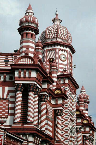 Mosque in Sri Lanka