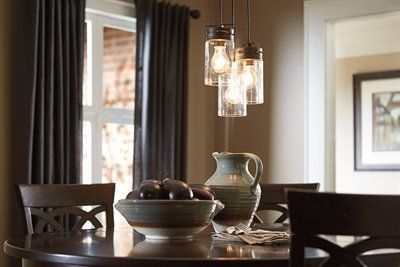 Allen roth vallymede 77 in olde bronze multi pendant light with allen roth vallymede 77 in olde bronze multi pendant light with clear glass aloadofball Choice Image