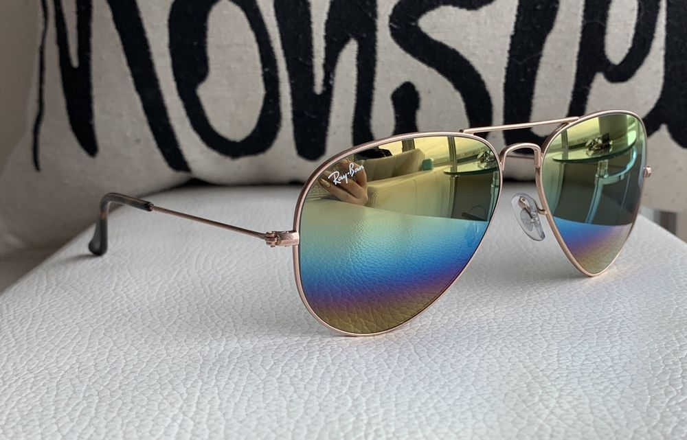 RAY BAN RB3025 9020/C4 Large Metal Aviator Sunglasses w 58 mm Lenses |  Metal aviator sunglasses, Aviator sunglasses, Unisex accessories