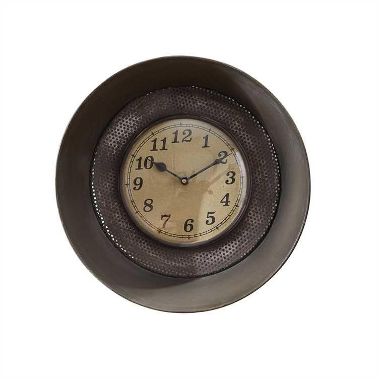 Farmhouse Style Sifter Wall Clock Clock Wall Clock Clock Decor