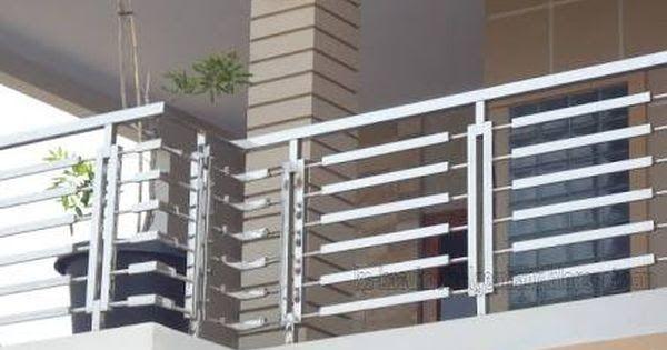 Balcony Steel Railing Design Catalogue in 2020   Balcony ...