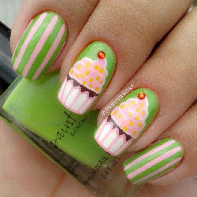 jhoanzings #nail #nails #nailart   Fruit and Food Nail Art ...
