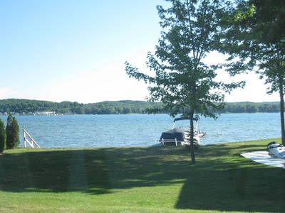 Portage Lake, Michigan: Shore View at Portage Lake   Klave's