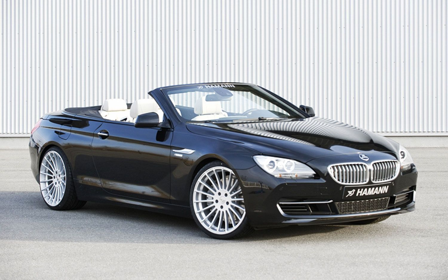 Bmw 6 Series Convertible Gets Makeover Hamann Style Bmw Bmw 6