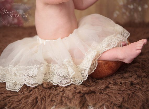 d1ae7b4f7 Baby Pettiskirt - Tutu- lace Pettiskirt - baby tutu -pettiskirt ...