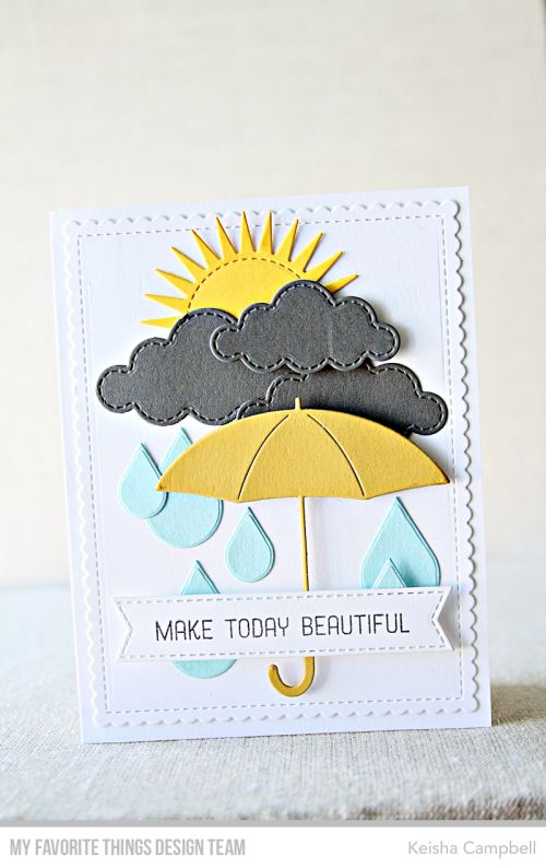 A Bit East Coast Umbrella Cards Cards Handmade Cards