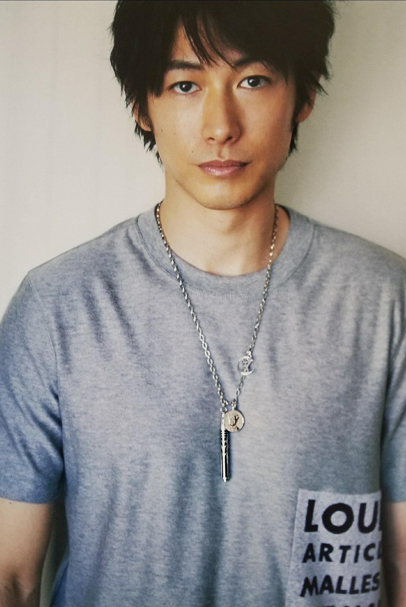 Dean Fujioka ヘアスタイル メンズ 40代 美しい男 でぃーんふじおか