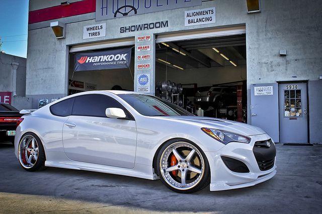 2013 Hyundai Genesis Coupe Rspec K3Projekt One by Autoglitz, via Flickr