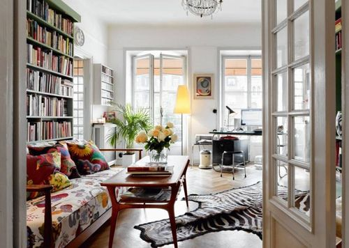 Scandinavian Eclectic Living Room