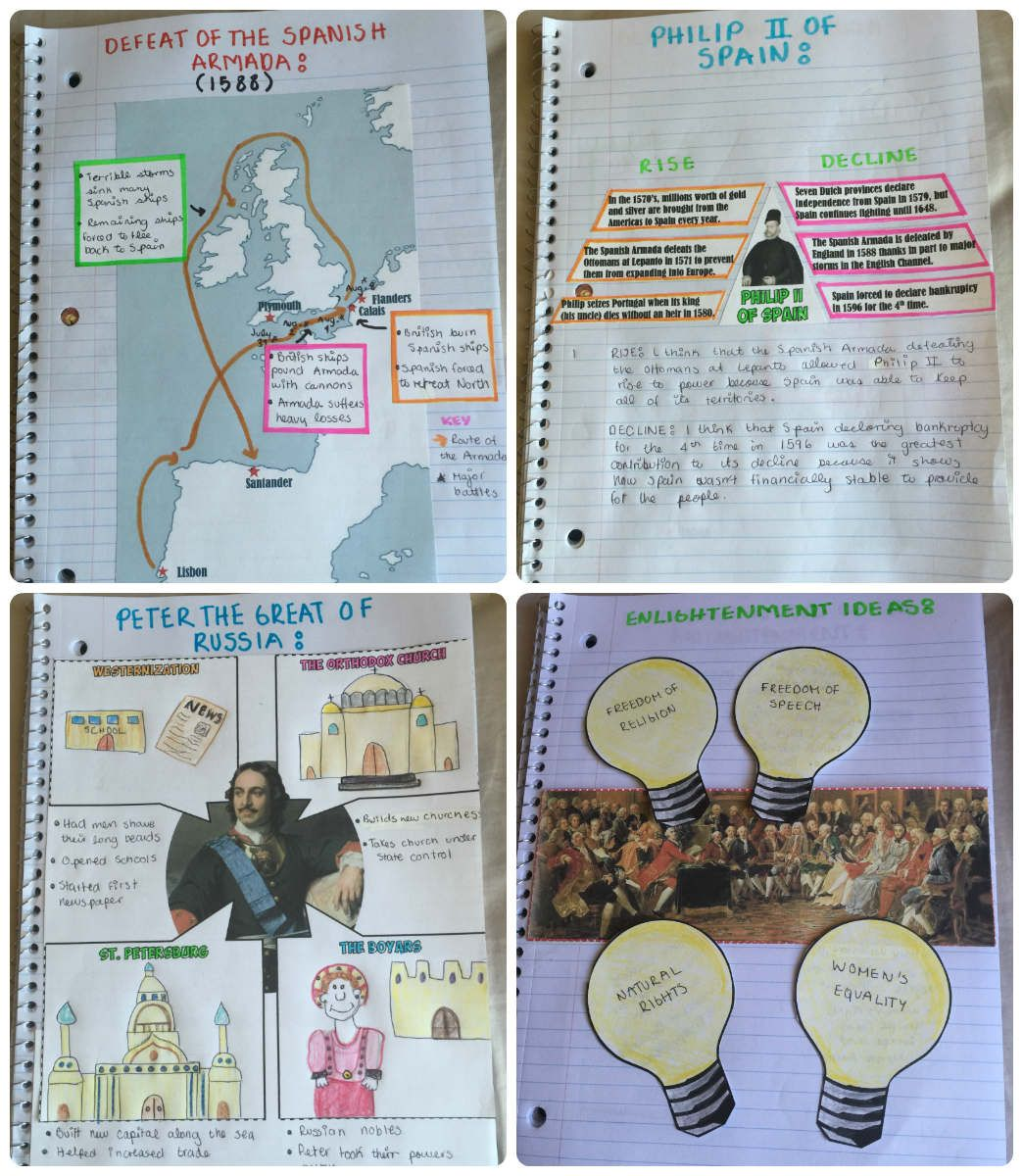 Absolute Monarchs And Enlightenment Interactive Notebook History Interactive Notebook World History Lessons World History Classroom
