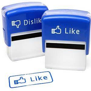 Facebook Like/Dislike Stamp