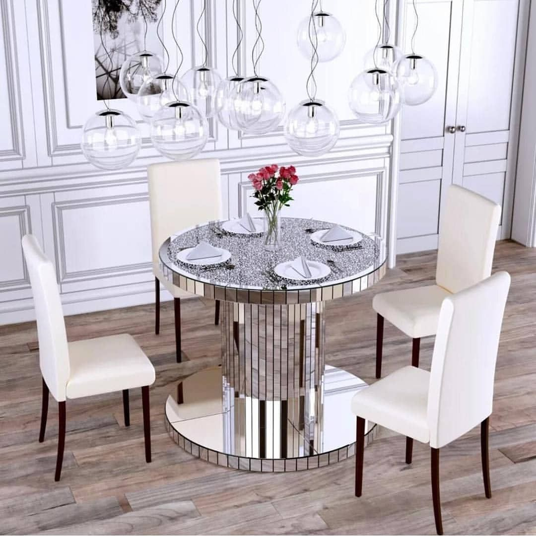New The 10 Best Home Decor With Pictures Crush Diamond Dining Table Dm For Price Info And To Place Or Dining Table Round Dining Table Mirrored Furniture