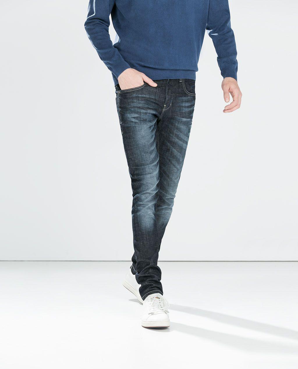 Adjustable Jeans Zara Waist Pinterest With Man qTwxa8gF