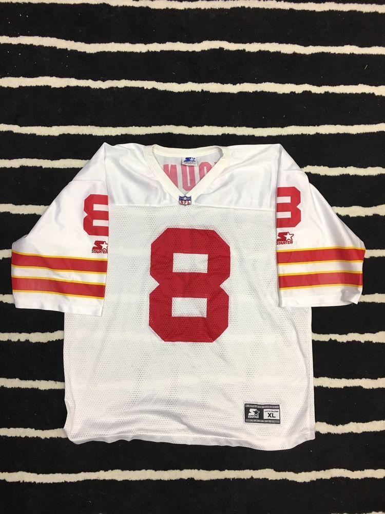 the best attitude 2bd11 2fdef Vintage Starter NFL San Francisco 49ers Steve Young Jersey ...