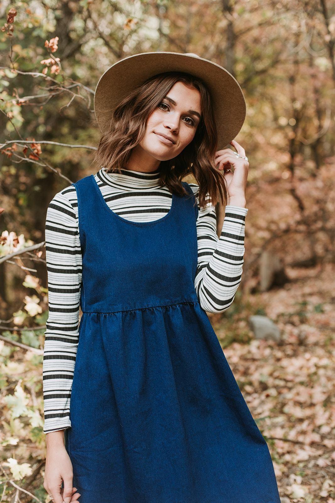 How to denim a wear dress pinterest best photo
