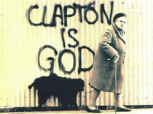 I've been reading Clapton's autobiography and biography, so I've read a lot about this, but never seen it. Cool.