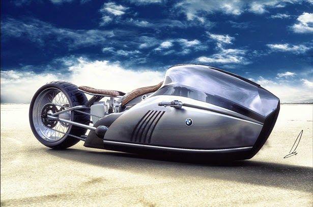 Tecnoneo: ALPHA motorcycle, concepto diseñado para BMW