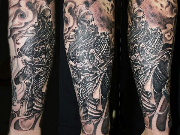 25 Impressive Warrior Tattoos Slodive Warrior Tattoo Warrior Tattoos Sleeve Tattoos