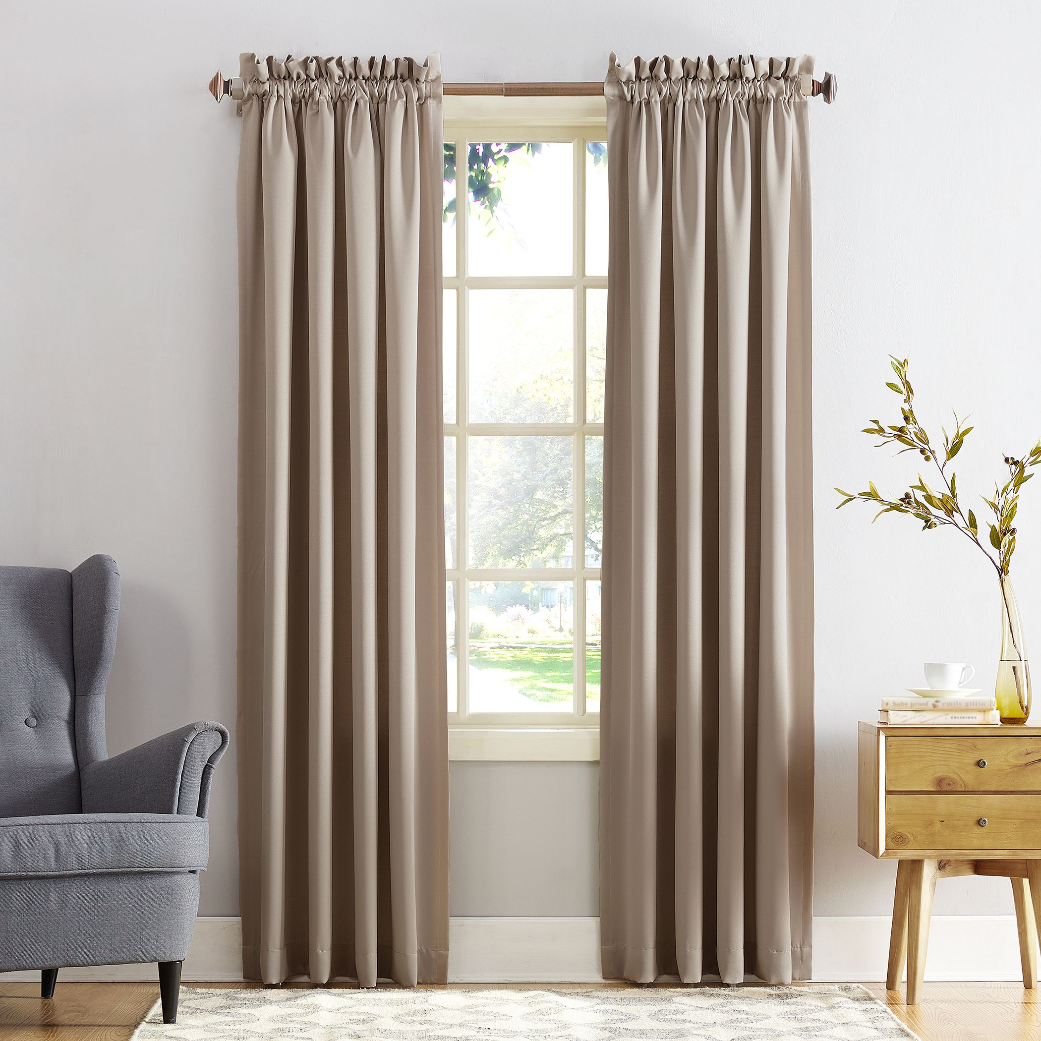 Home In 2020 Rod Pocket Curtain Panels Curtains Panel Curtains