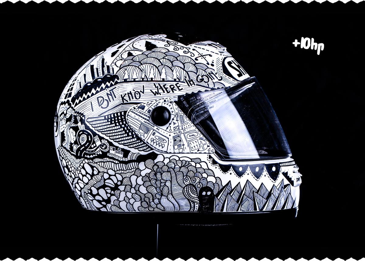 Doodle Sharpie Helmet On Behance Shlem