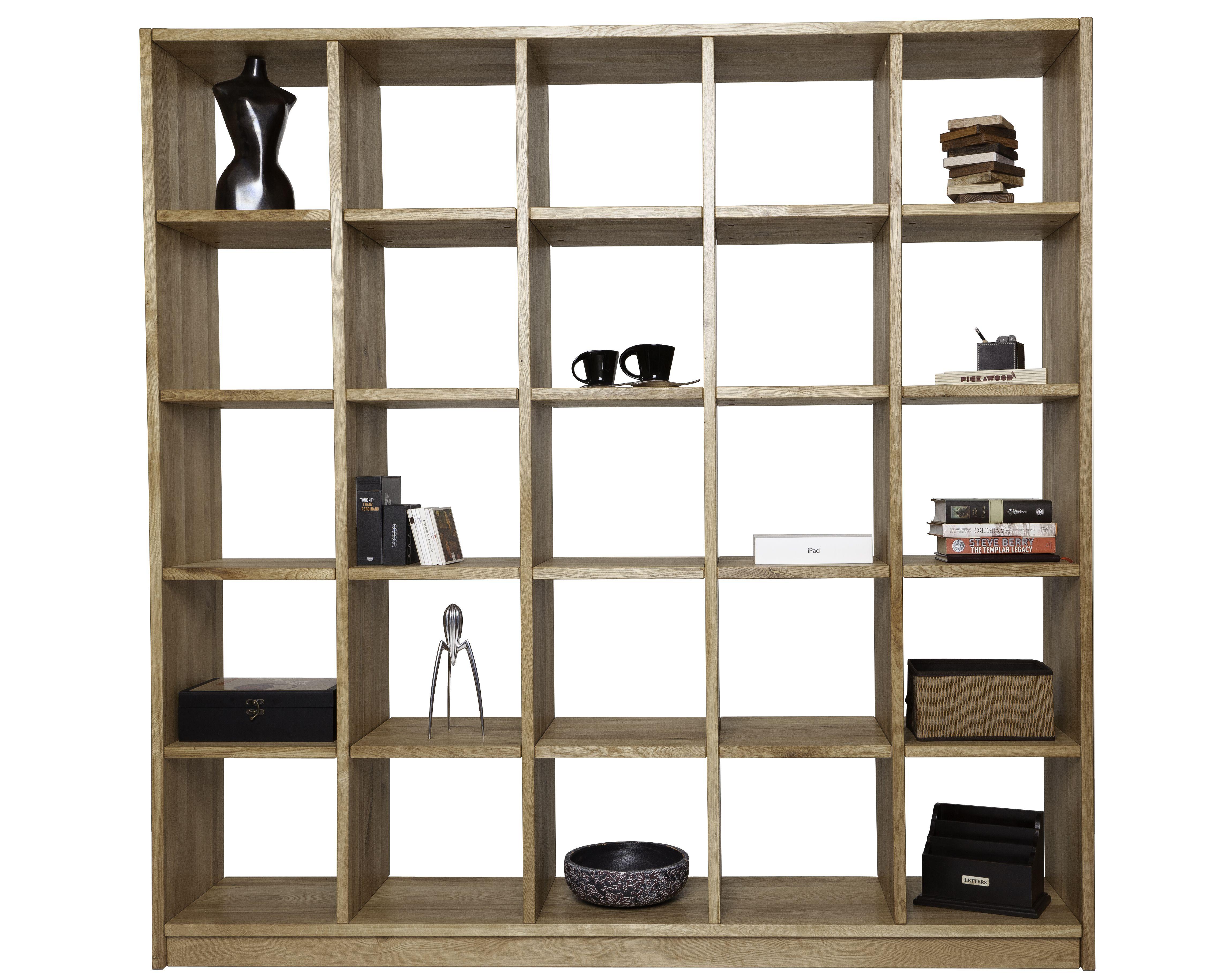 wundersch nes b cherregal nach ma welches auch als raumteiler genutzt werden kann das massive. Black Bedroom Furniture Sets. Home Design Ideas