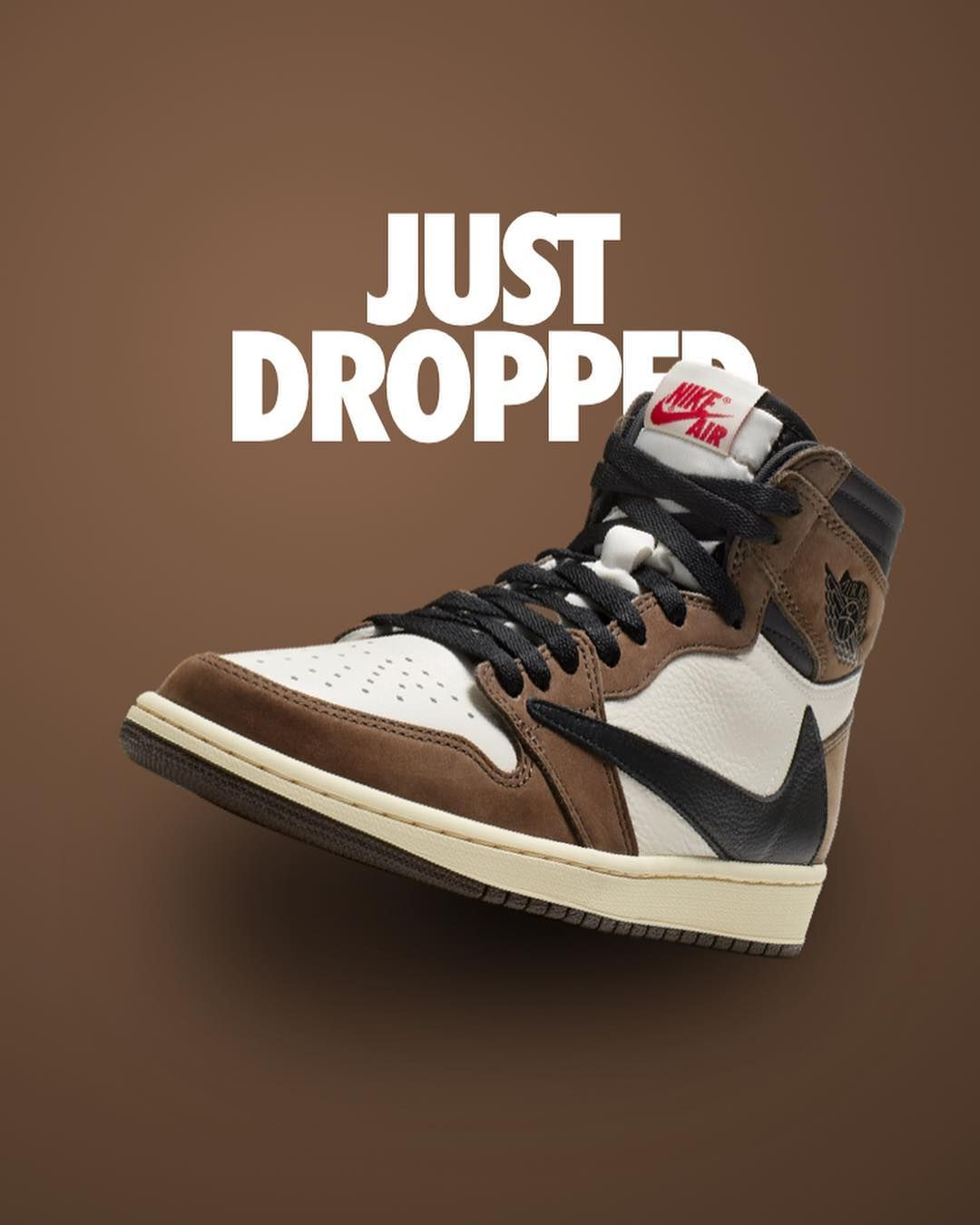c81cb632ca0ff Who got em  Just Dropped on SNKRS  airjordan1  travisscott   airjordan1travisscott  airjordan1cactusjack  aj1  aj1travisscott…