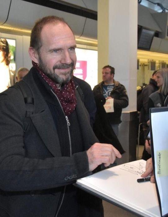 Ralph Fiennes in Berli...