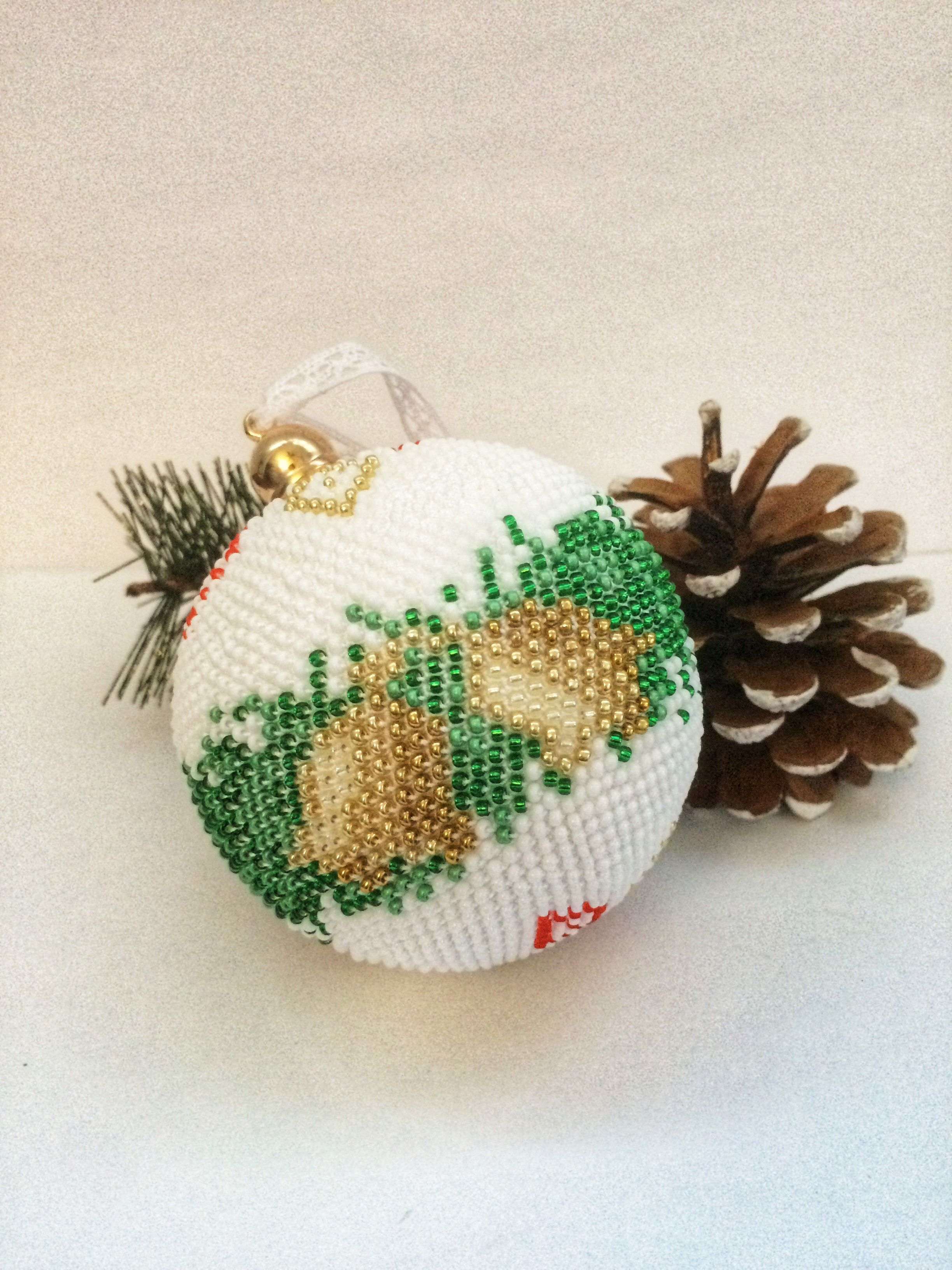 This Website Is Currently Unavailable Beaded Christmas Ornaments Crochet Ornament Patterns Christmas Bead