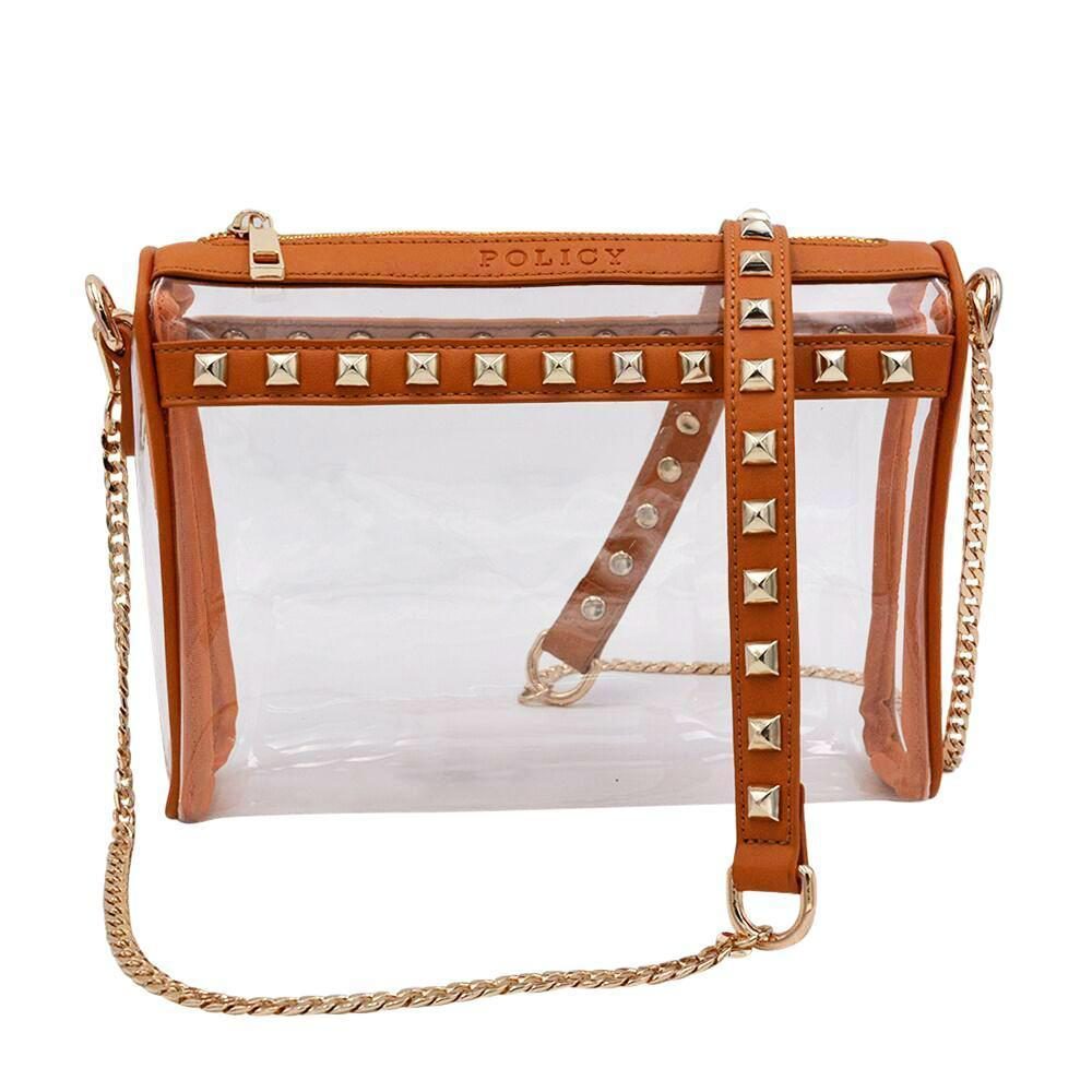 LET S BE CLEAR! Go Clear in STYLE! Stadium Approved Clear Handbags ... 39262e47dbca0
