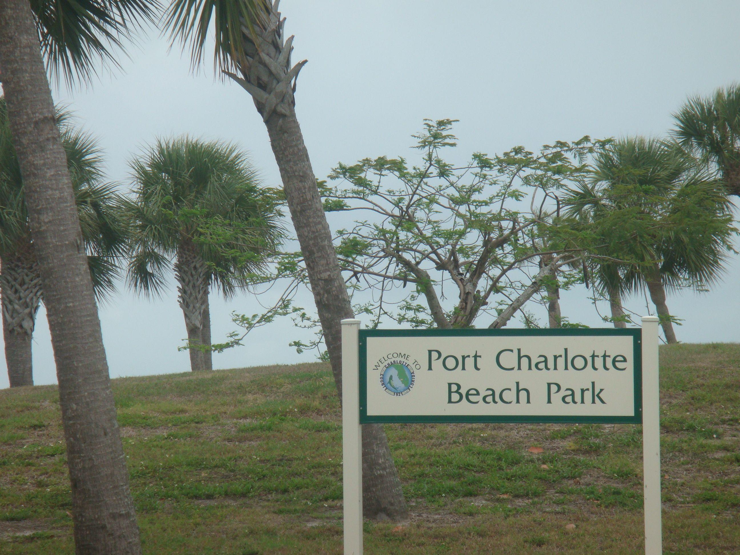 Port Charlotte Beach Park State Of Florida Beaches Punta