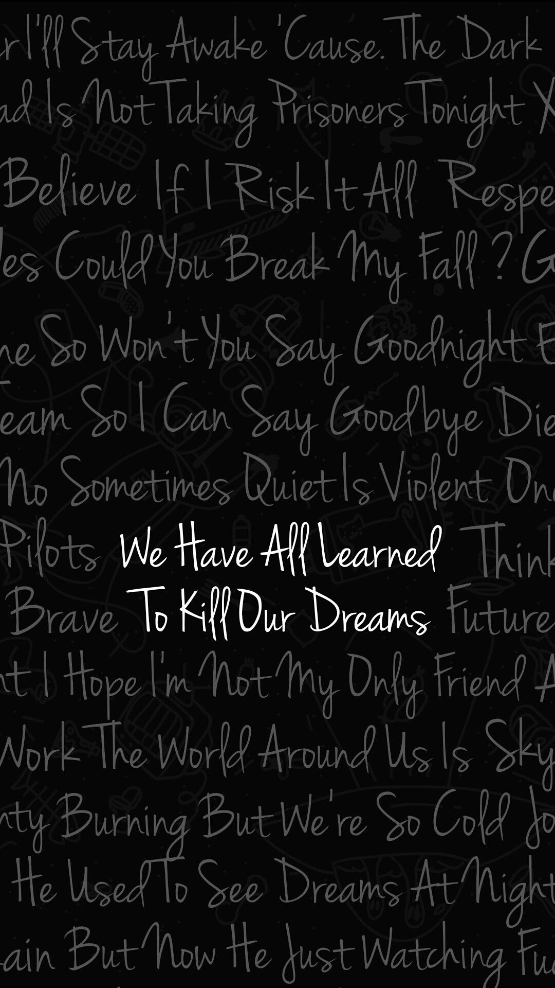 Kitchen Sink Twenty One Pilots Wallpaper twenty one pilots wallpaper of best lyrics tyler joseph josh dun