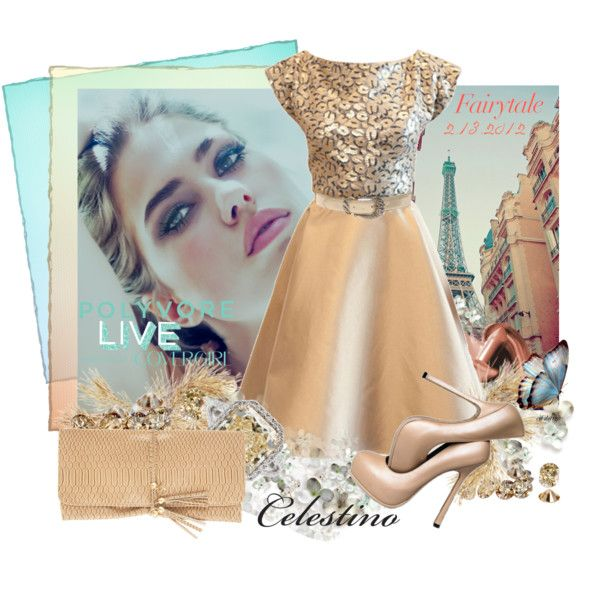 Polyvore Live and COVERGIRL Present Celestino, created by cjfdesign on Polyvore