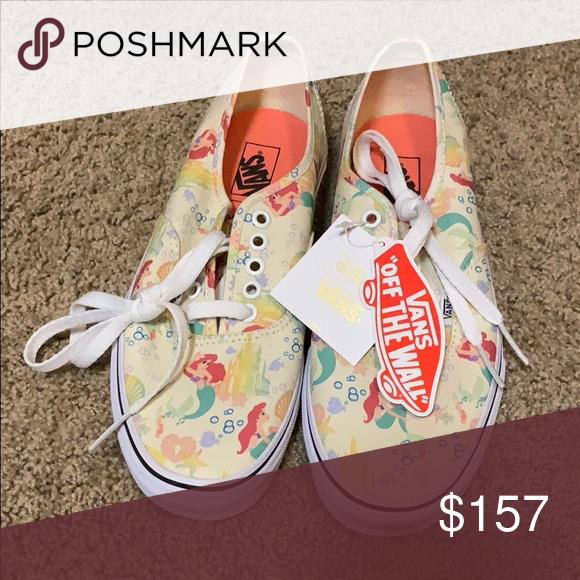 d494bfea674360 Disney X VANS Little Mermaid Brand new w tags!!! Vans Shoes Sneakers ...
