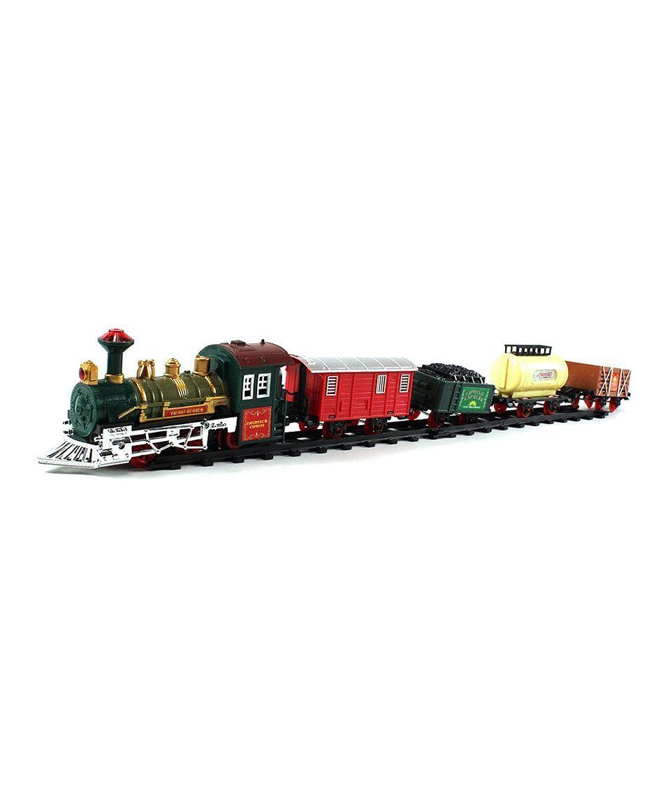 Another great find on #zulily! Retro Continental Train Set by Velocity Toys #zulilyfinds