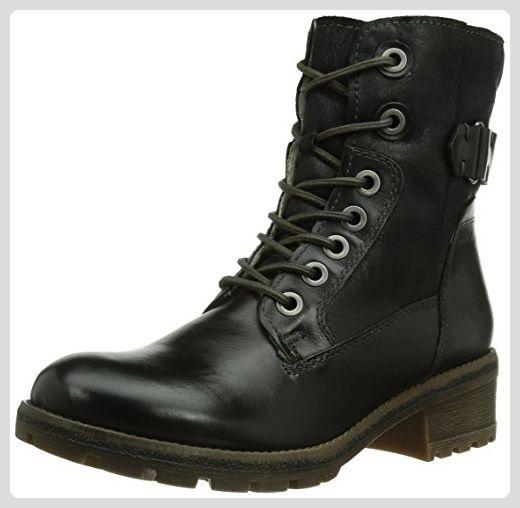 Tamaris 26207, Damen Combat Boots, Schwarz (Black 001), 40