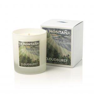 Cloudburst candle | La Montana