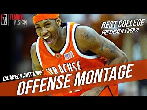 c6d7a4fc5d526a Carmelo Anthony Syracuse NCAA Tournament Offense Highlights Montage 2003 -  Best Freshmen Ever ! -
