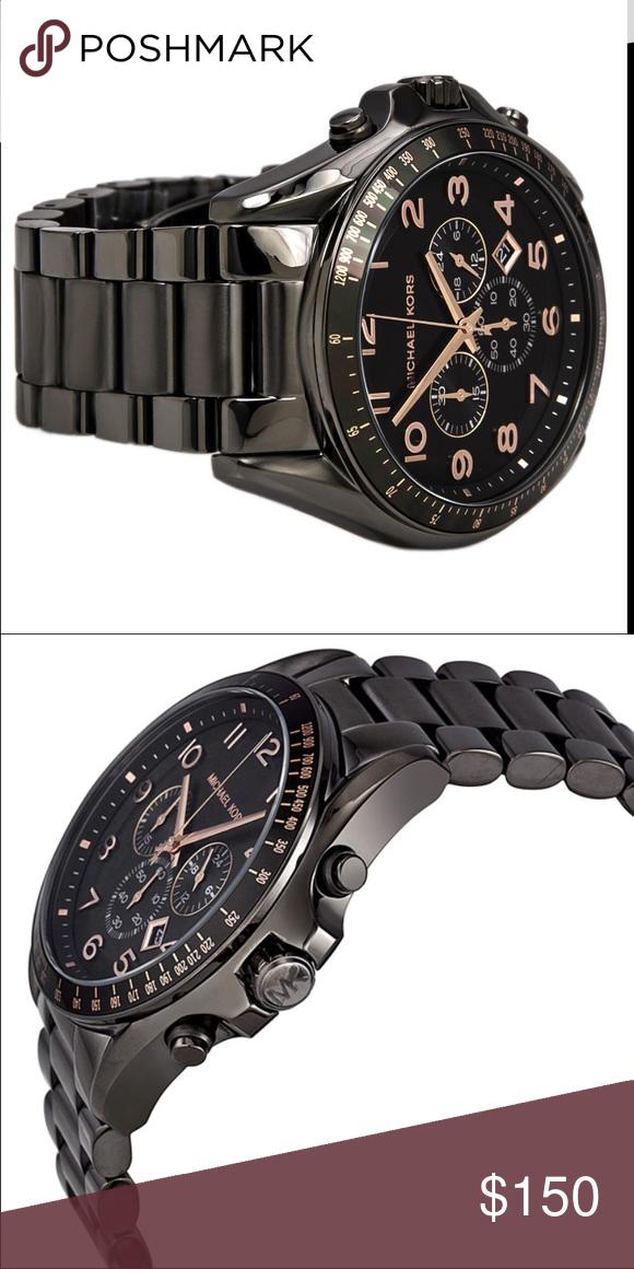 6bd156ff516d MICHAEL KORS MENS WATCH MK8255 Bradshaw chronograph watch