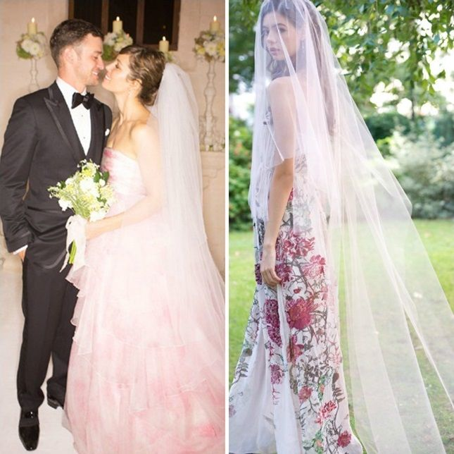 From Kate To Kim 12 Celebrity Inspired Wedding Veils We Love