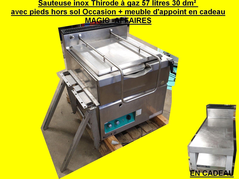 Epingle Sur Sauteuse Inox Thirode A Gaz 57 Litres 30 Dm