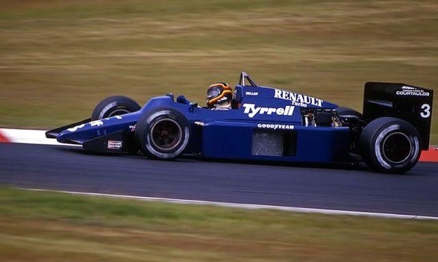 Risultati immagini per f1 1985 1985 Stefan Bellof, Tyrrell-Ford 012