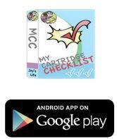 Cricut Cartridge Checklist App Printable List Updated Joy S Life Checklist App Cricut Expression Cricut Cartridges