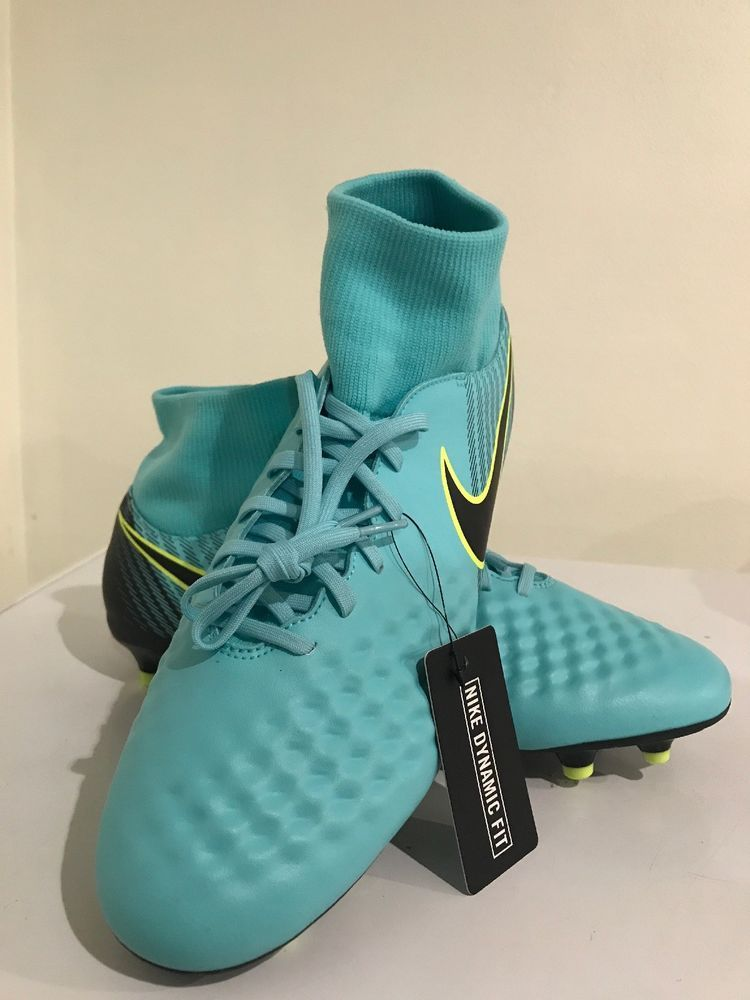 66dcdd17bcae Nike Magista Obra II FG Womens Volt Soccer Cleats Shoes 844205-400 Size  10.5
