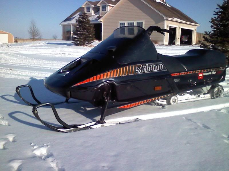 Slayerfish S Image Vintage Sled Snowmobile Snowbike