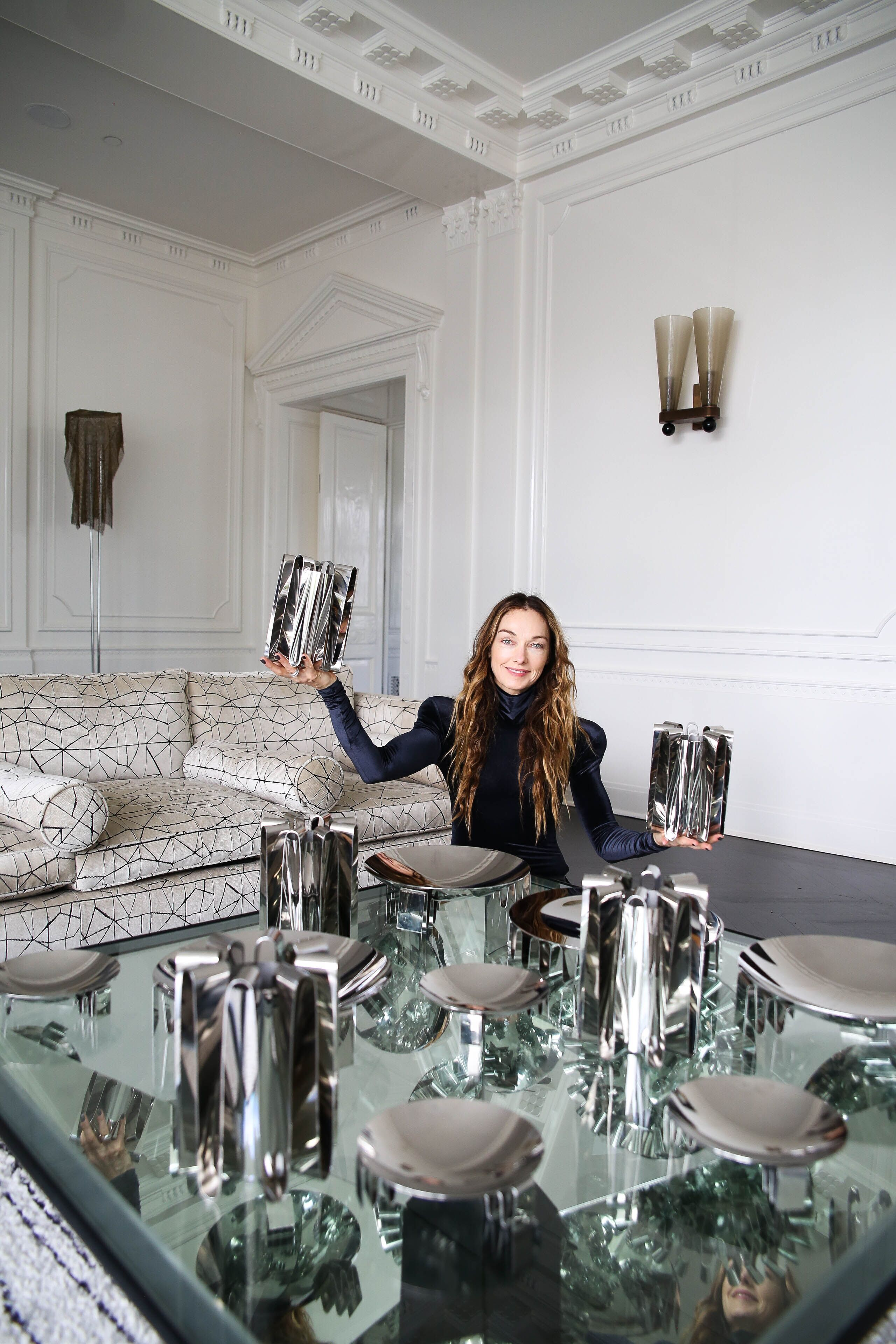 Kelly Wearstler X Georg Jensen Frequency Collection At Home